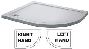 Offset Quadrant Shower Tray Left and Right Handed